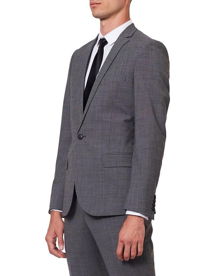 Dark Sharkskin Suit Jacket image 2
