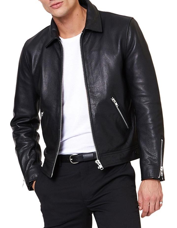 Clasher Leather Jacket image 1