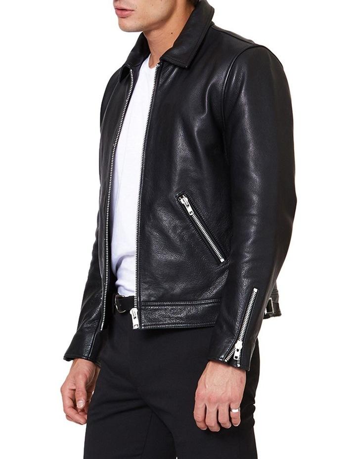 Clasher Leather Jacket image 2