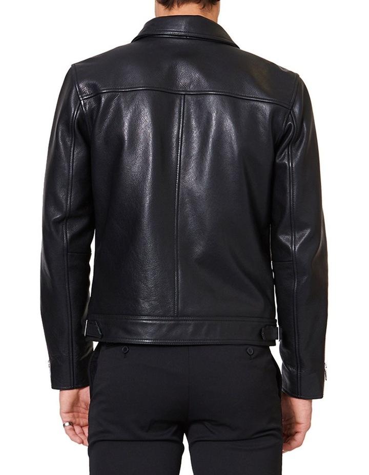 Clasher Leather Jacket image 3