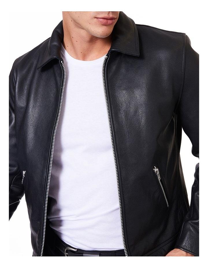 Clasher Leather Jacket image 4