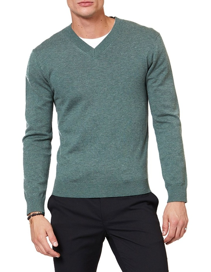 V Neck Knit image 1
