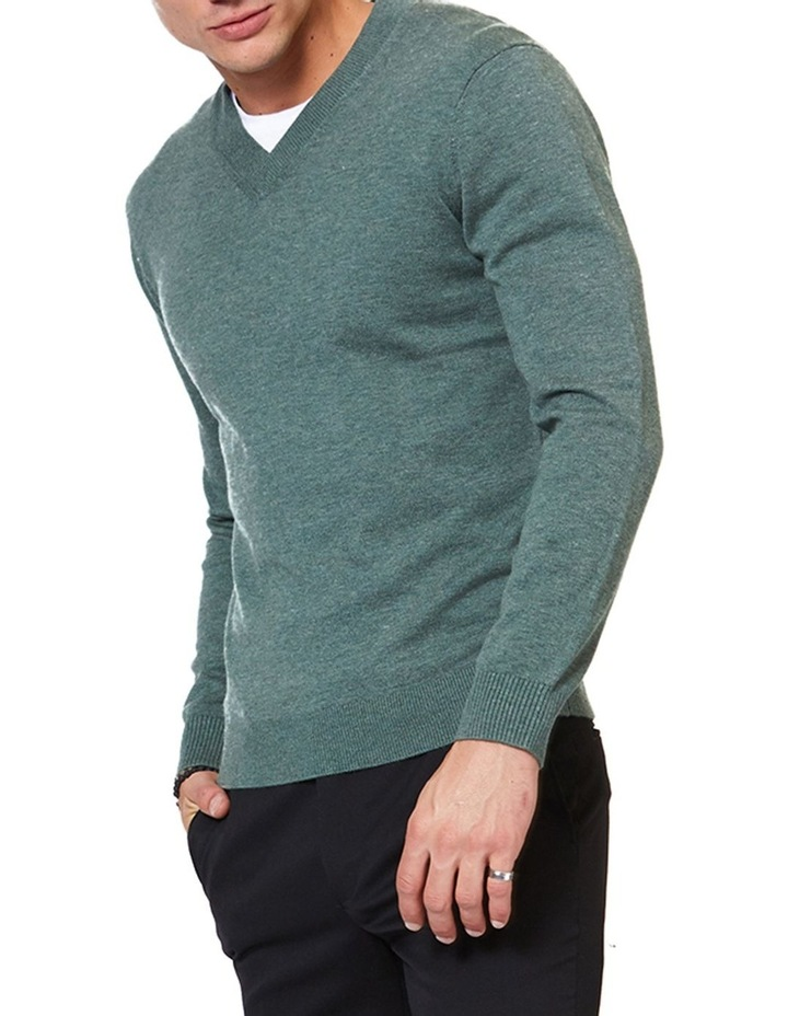 V Neck Knit image 2