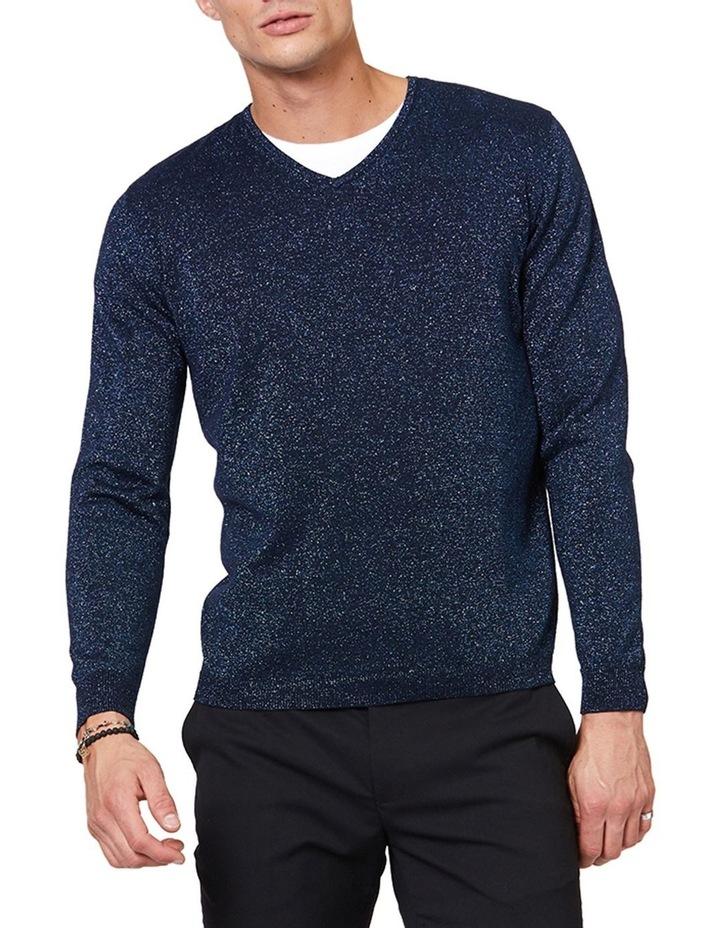 Blue Lurex Knit image 1