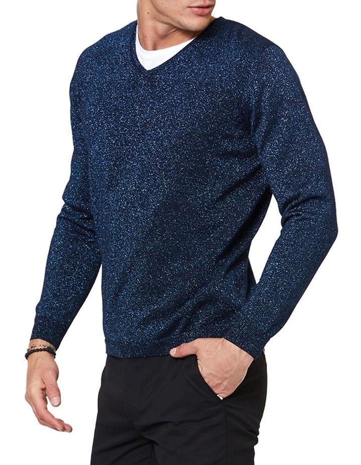 Blue Lurex Knit image 2