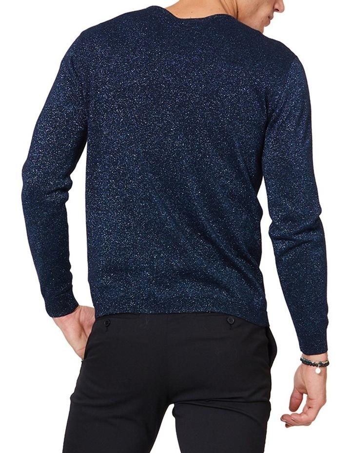 Blue Lurex Knit image 3