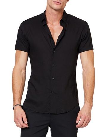 b6840e0d7235 Jack London SS Black Mod Shirt