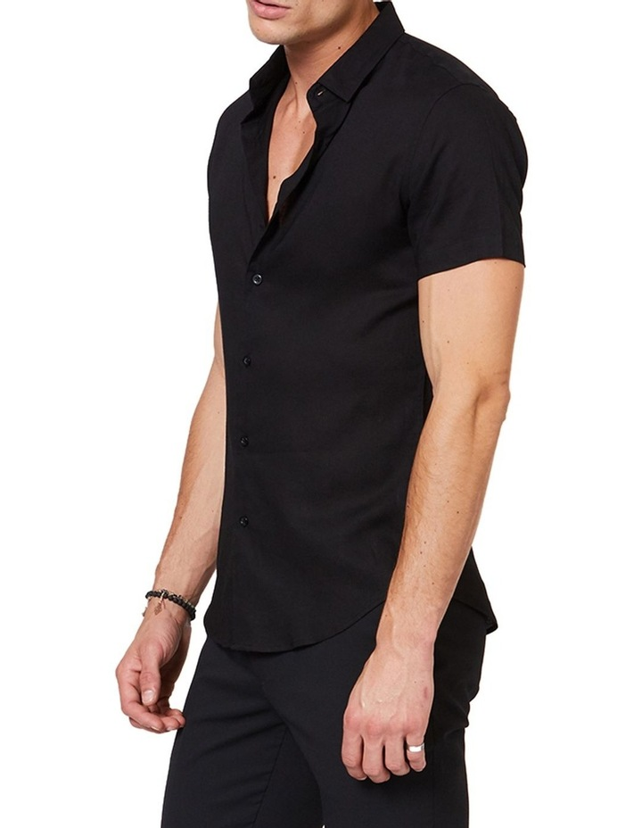 Black Mod Short Sleeve Shirt image 2