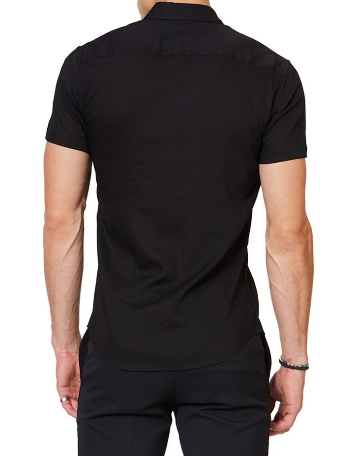 Black Mod Short Sleeve Shirt image 3