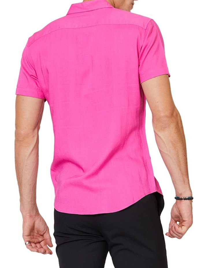 Short Sleeve Pink Mod Shirt image 3