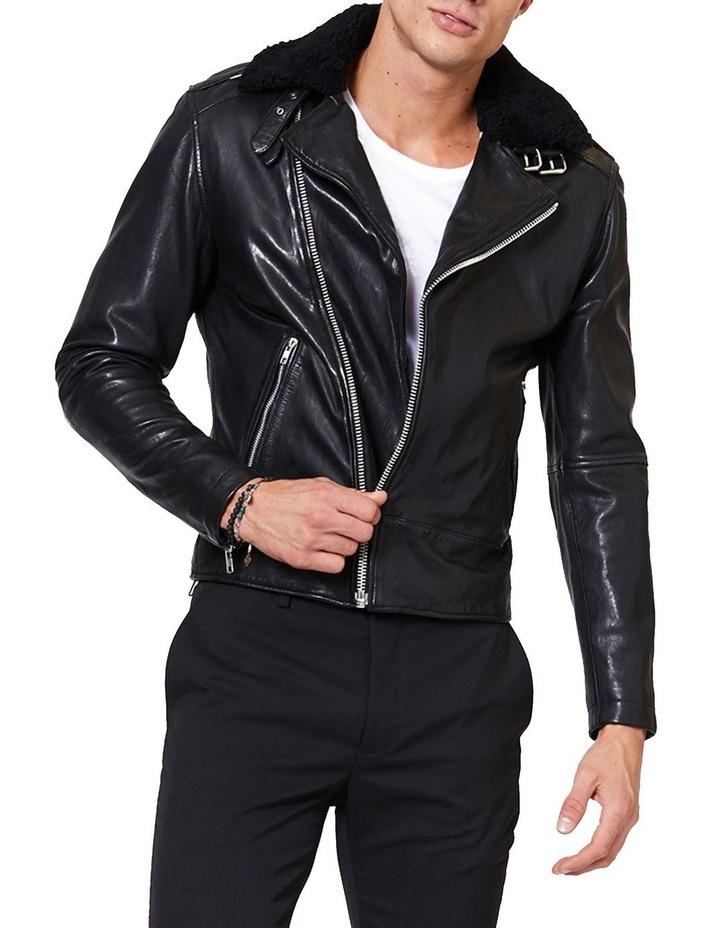 Aviator Leather Jacket image 1