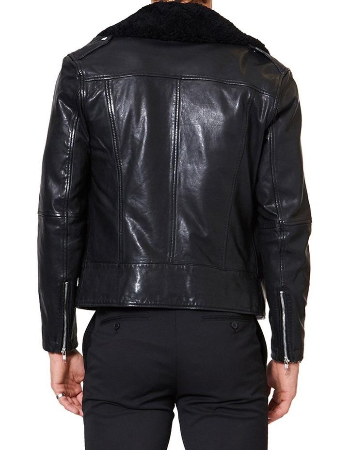 Aviator Leather Jacket image 3