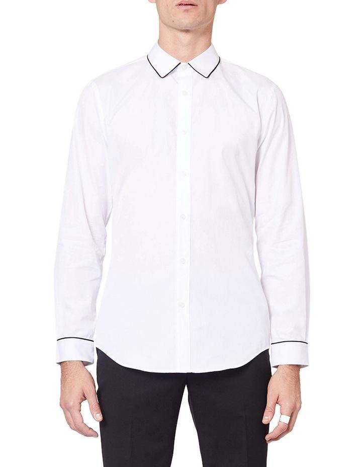 Piping Dinner Long Sleeve Shirt image 1