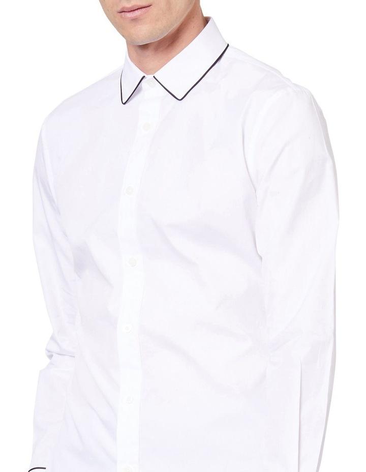 Piping Dinner Long Sleeve Shirt image 4
