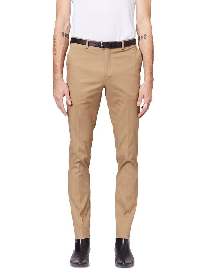 Taupe Dress Chinos image 1