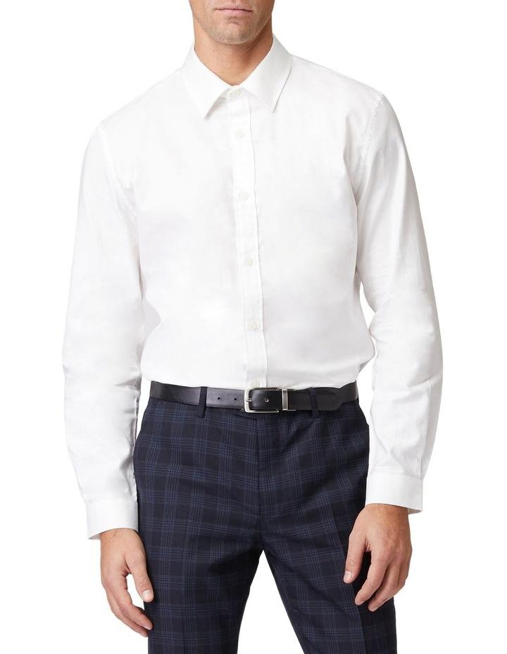 Pique Dress Long-Sleeve Shirt image 1