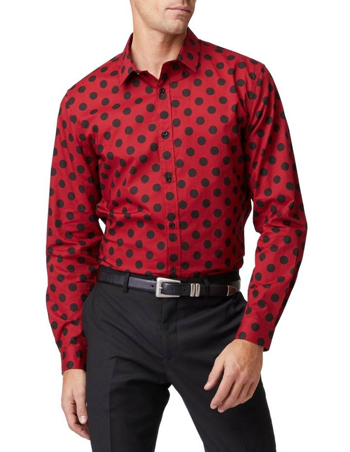 Mod Spot Long-Sleeve Shirt image 1