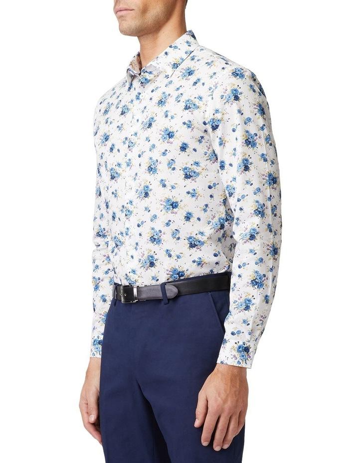 Blue Roses Mod Long-Sleeve Shirt image 2