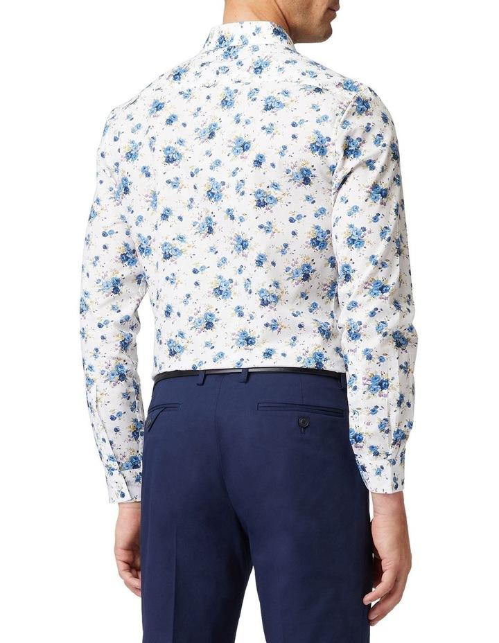 Blue Roses Mod Long-Sleeve Shirt image 3