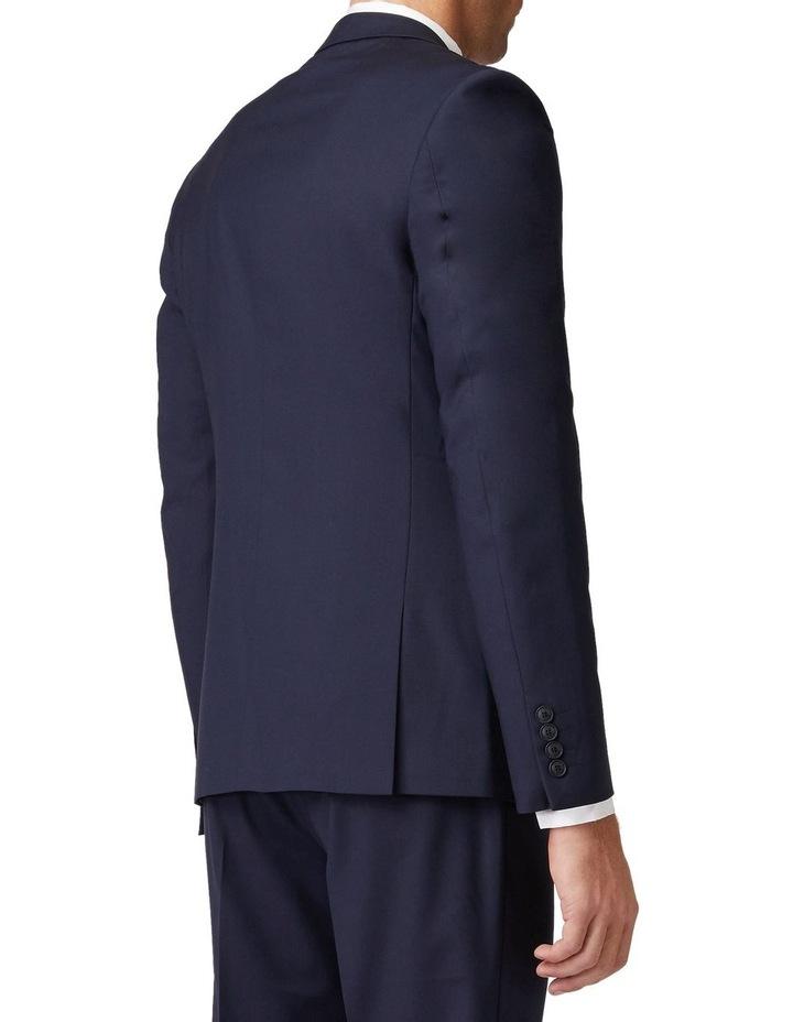Navy Stretch Mod Suit Jacket image 3