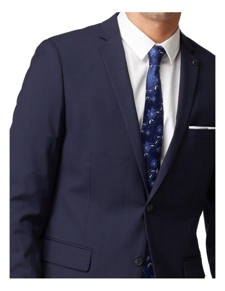 Navy Stretch Mod Suit Jacket image 4