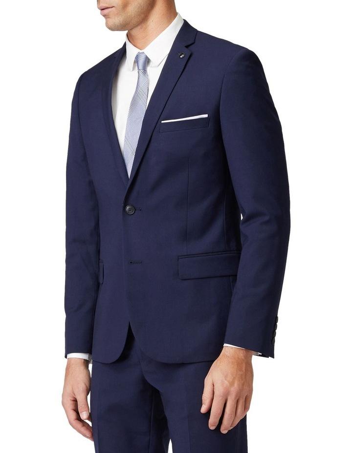 Blue Stretch Mod Suit Jacket image 2