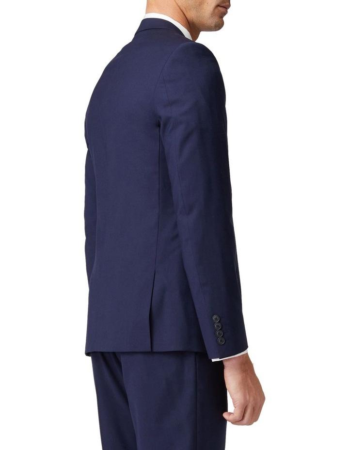 Blue Stretch Mod Suit Jacket image 3