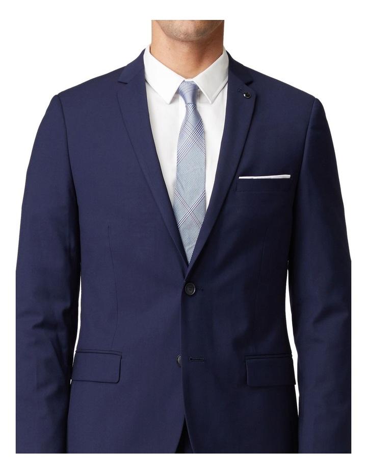 Blue Stretch Mod Suit Jacket image 4