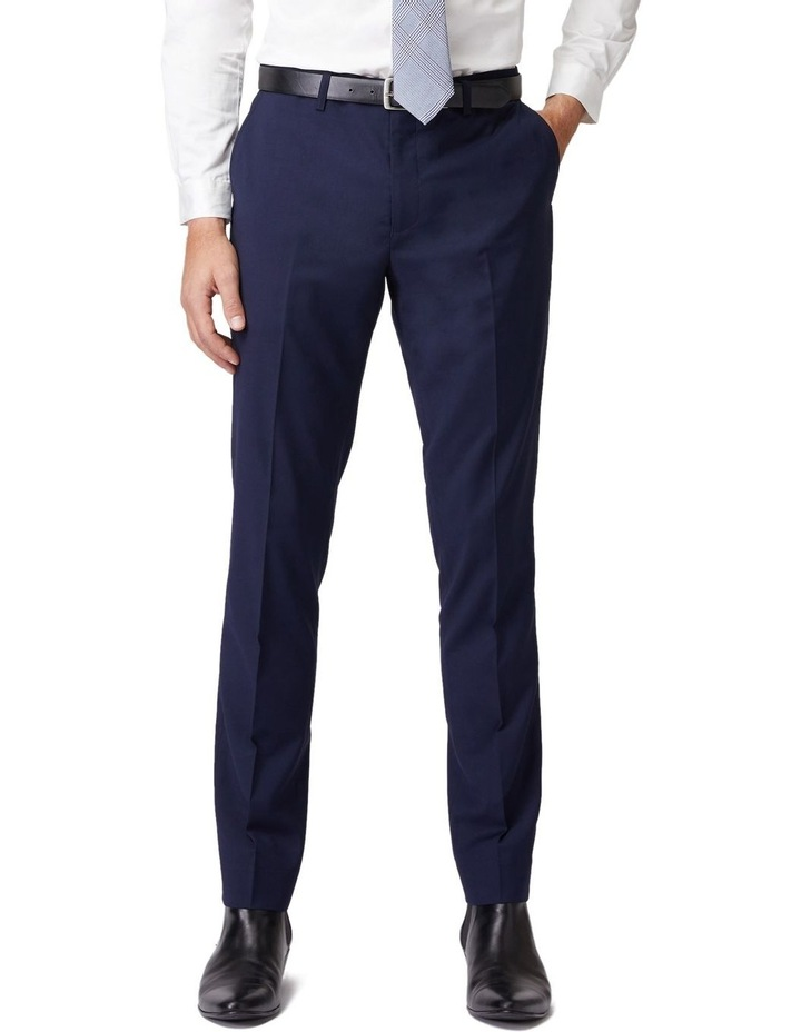 Blue Stretch Mod Suit Pants image 1
