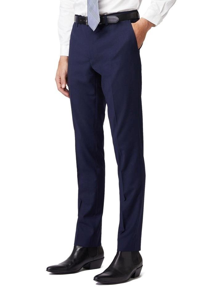 Blue Stretch Mod Suit Pants image 2