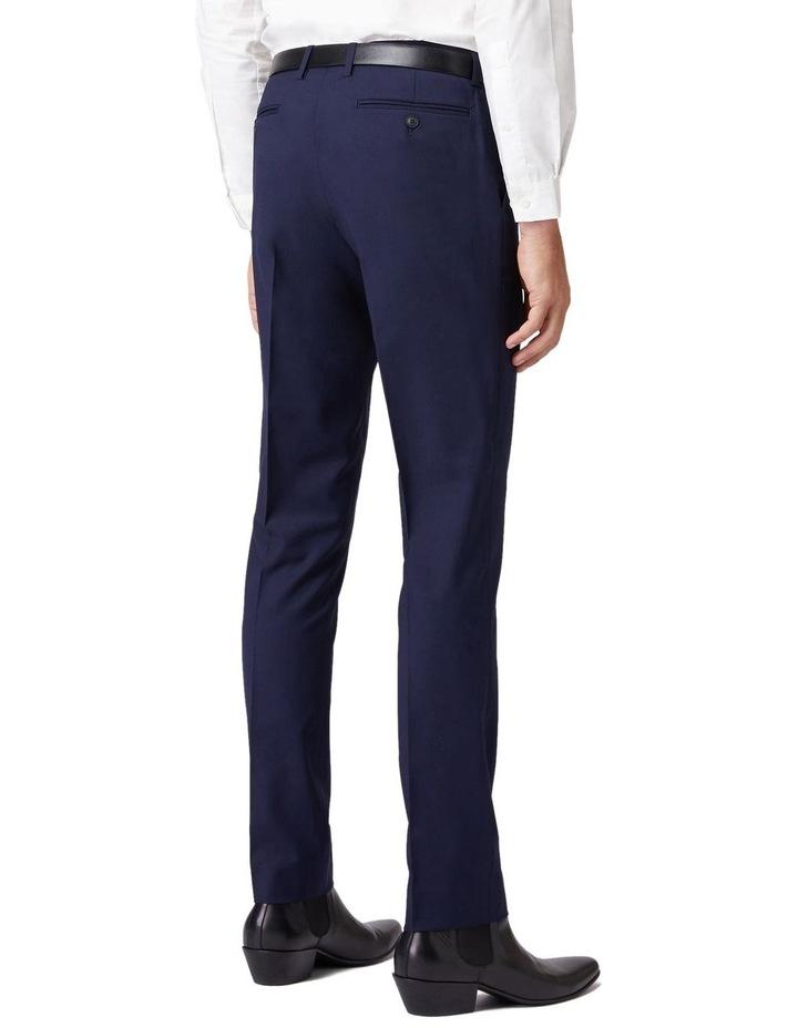 Blue Stretch Mod Suit Pants image 3