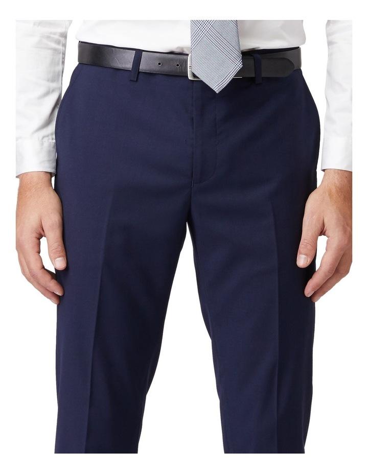 Blue Stretch Mod Suit Pants image 4