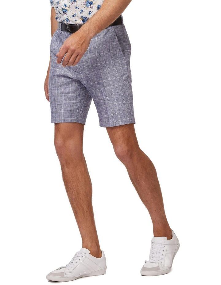 Linen Check Shorts image 2