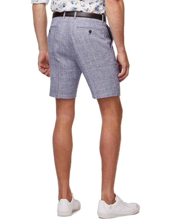 Linen Check Shorts image 3