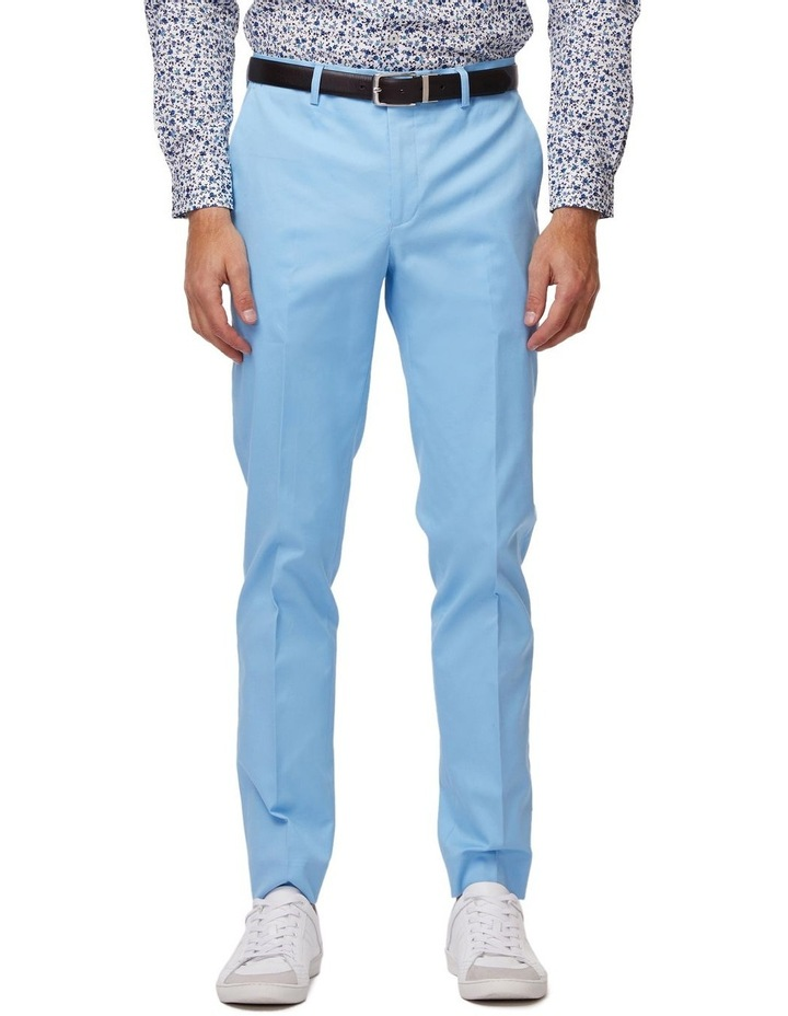 Sky Blue SS Dress Chinos image 1