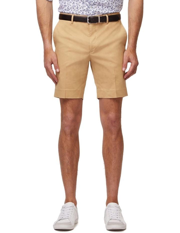 Tan SS Dress Shorts image 1