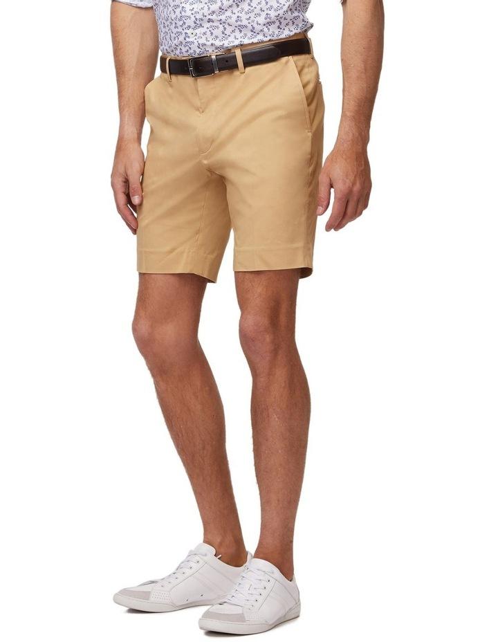 Tan SS Dress Shorts image 2