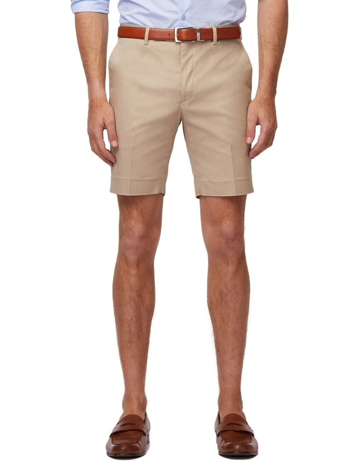Taupe SS Dress Shorts image 1