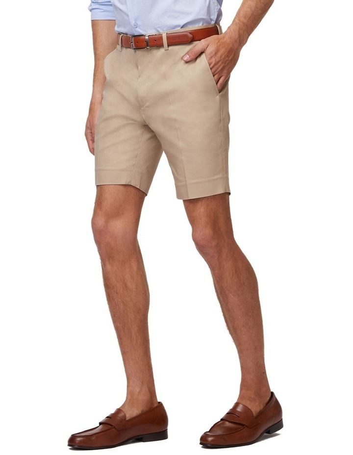 Taupe SS Dress Shorts image 2