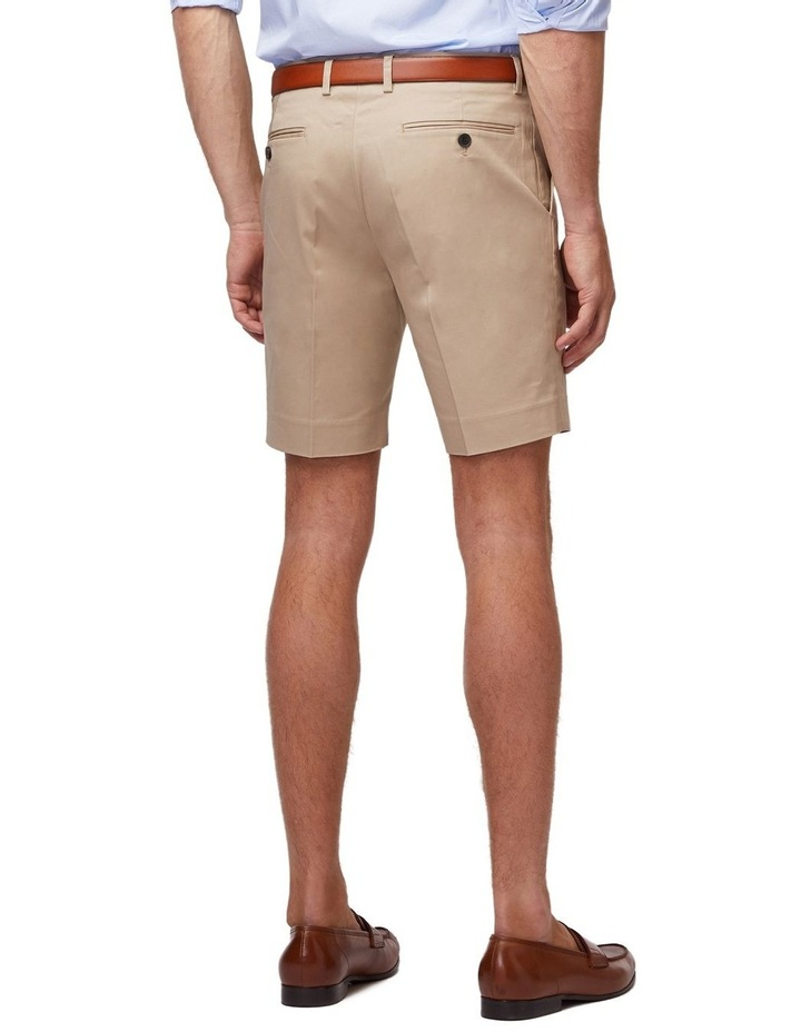 Taupe SS Dress Shorts image 3