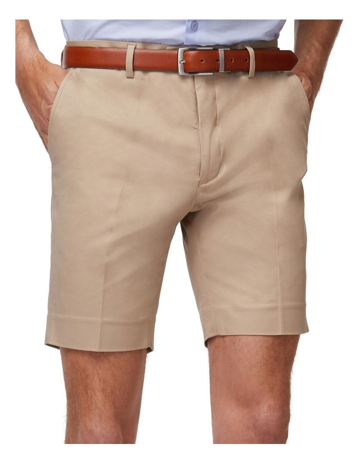 Taupe SS Dress Shorts image 4