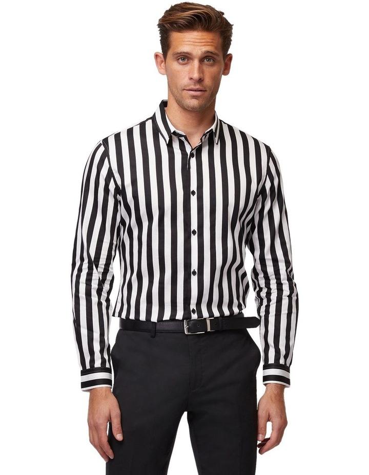 Striped Mod Long Sleeve Shirt image 1