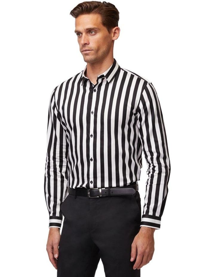 Striped Mod Long Sleeve Shirt image 2