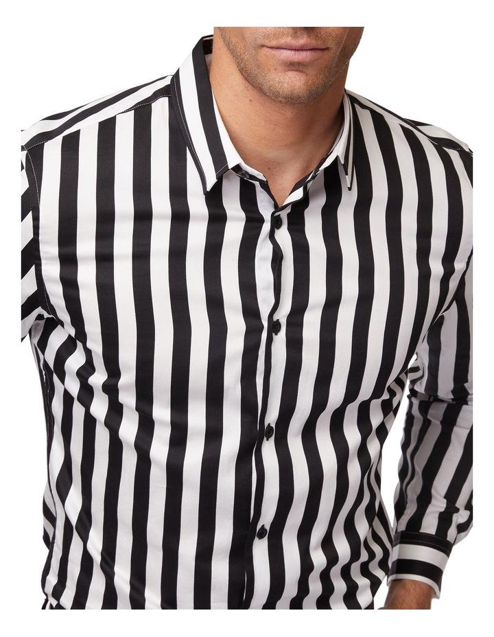 Striped Mod Long Sleeve Shirt image 4