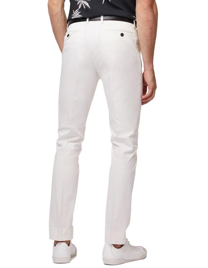 White Super Slim Dress Chinos image 3
