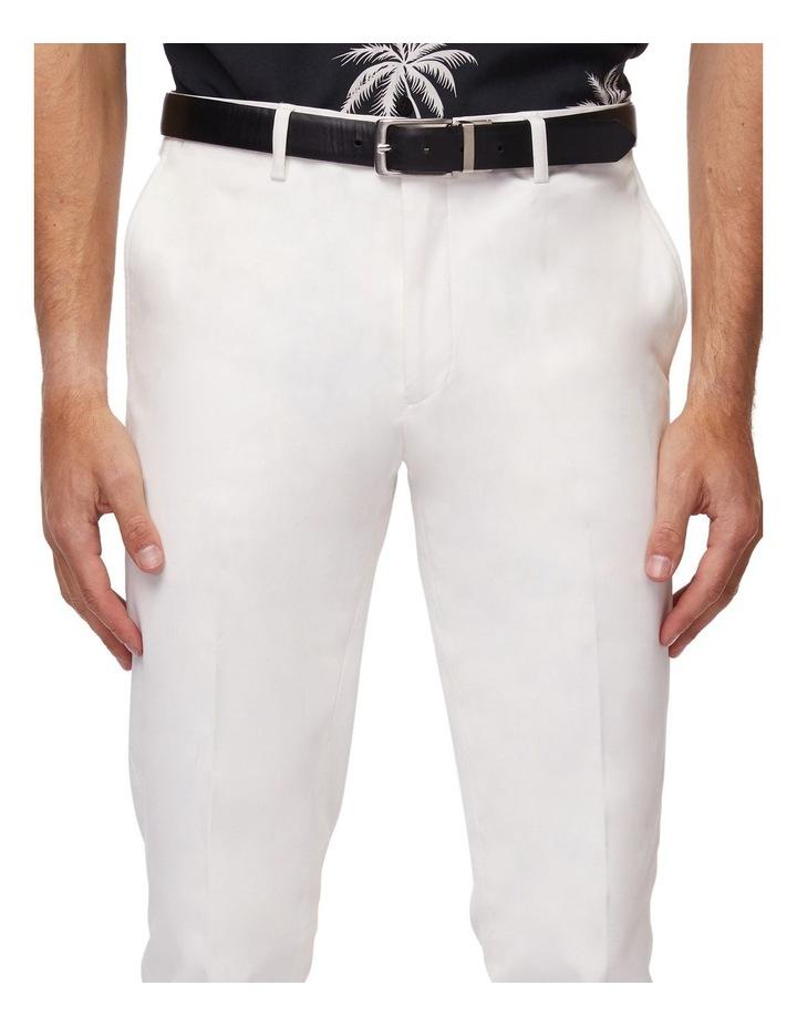 White Super Slim Dress Chinos image 4