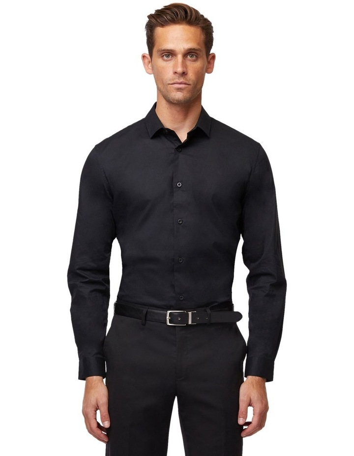 Stretch Cotton Long Sleeve Shirt image 1