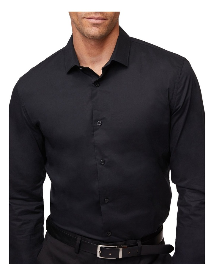 Stretch Cotton Long Sleeve Shirt image 4