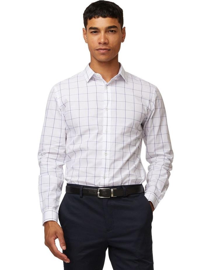Windowpane Mod Long Sleeve Shirt image 1