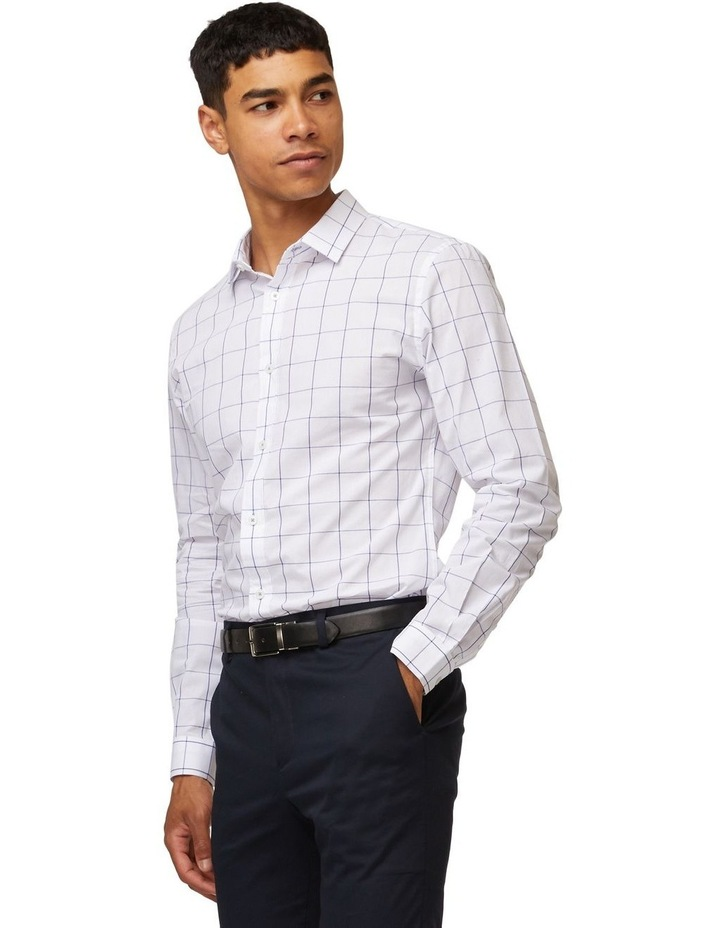 Windowpane Mod Long Sleeve Shirt image 2